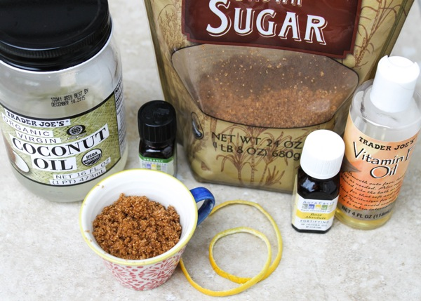 Diy brown sugar body scrub  1 of 1