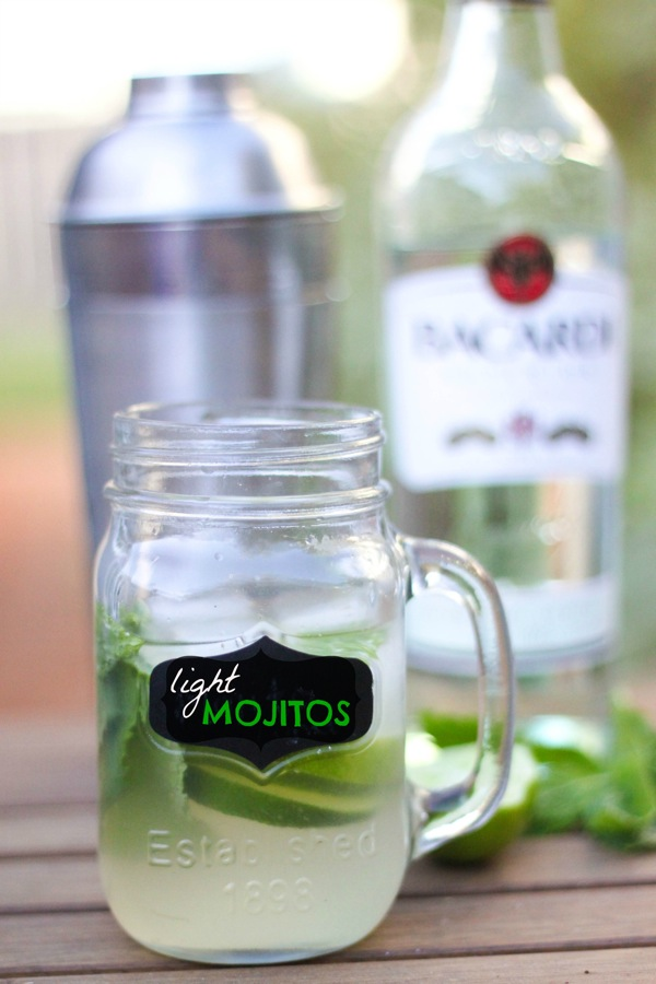 Light mojitos