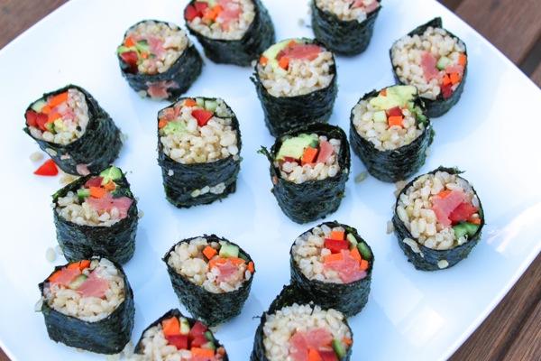 Sushi night  1 of 1 2
