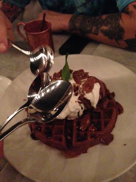 Waffle thing