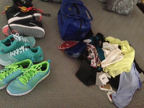 Packing mountain