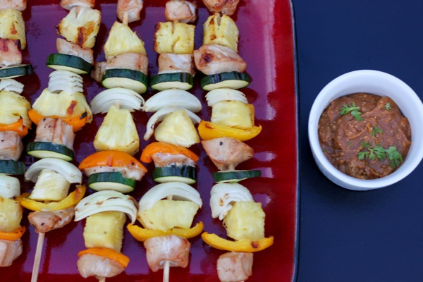 Pineapple chicken skewers  1 of 1