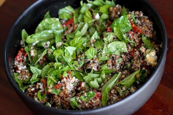 Quinoa lentil salad  1 of 1