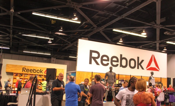Reebok booth  1 of 1