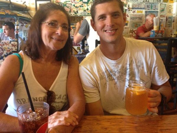 Tom and his mama