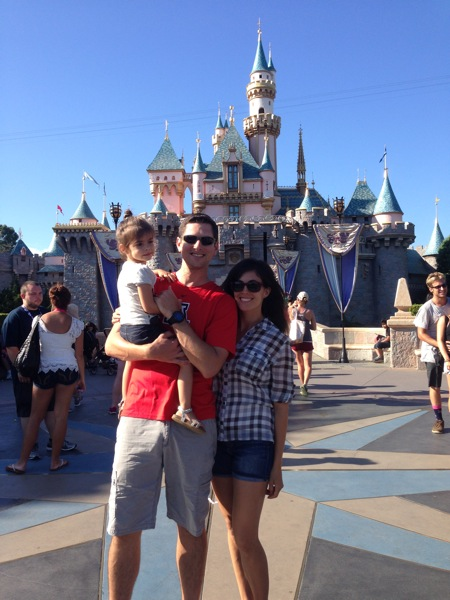 Us at disneyland