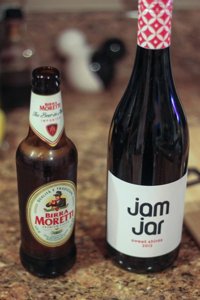 Jam Jar and a beer