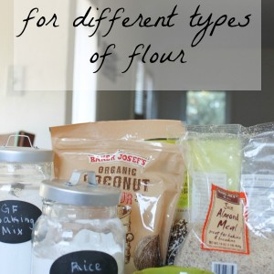 Recipes and uses for different types of flour