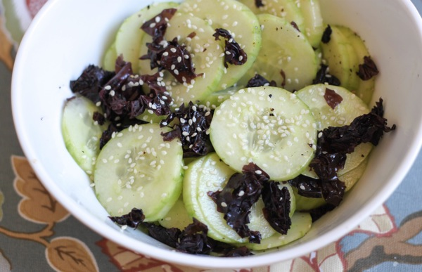 Dulse and cucumber salad  1 of 1 2