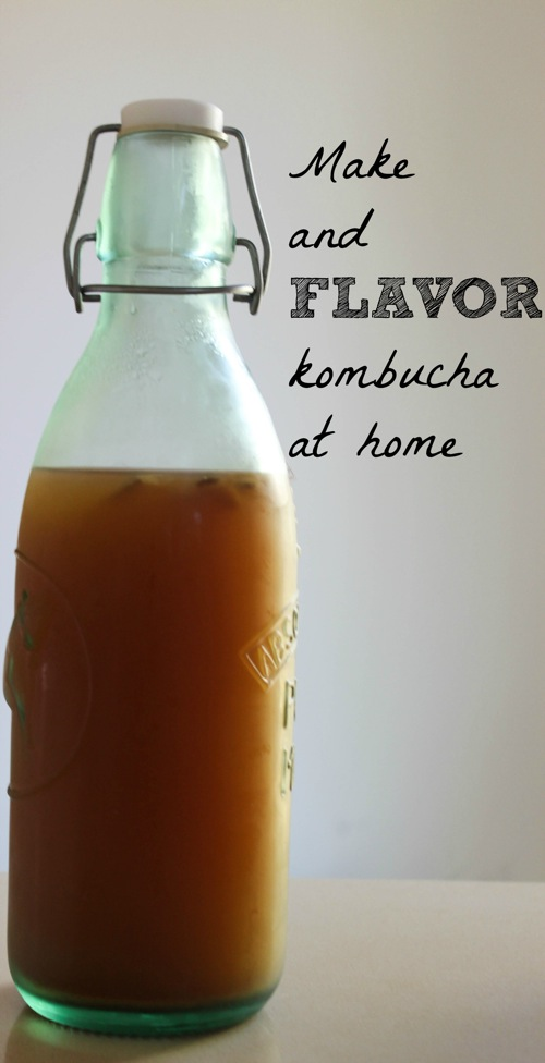 Make and flavor kombucha at home  1 of 1