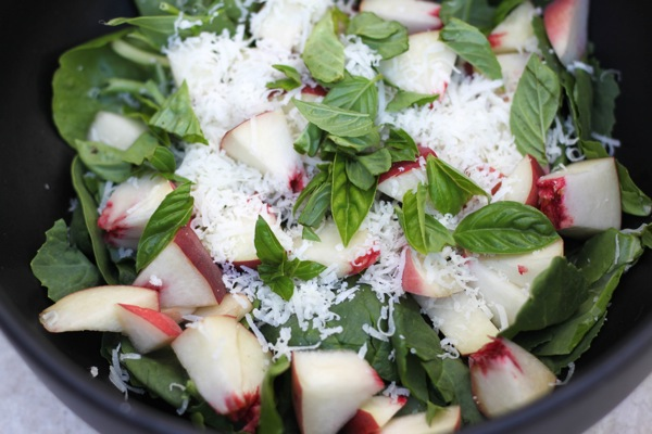 Peach and manchego salad  1 of 1