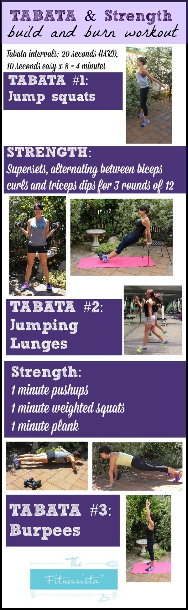Tabata and strength workout