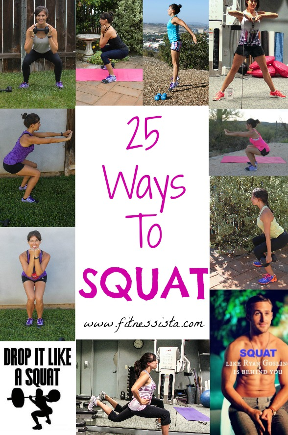 25 ways to squat