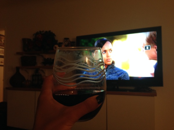 Scandal and vino
