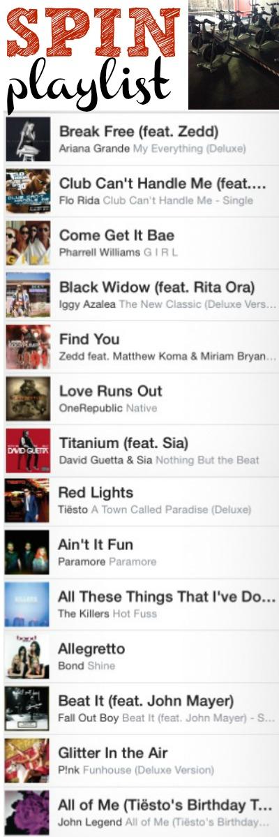 Spin playlist