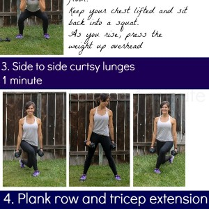 A twenty minute head to toe workout! Fast and effective. www.fitnessista.com