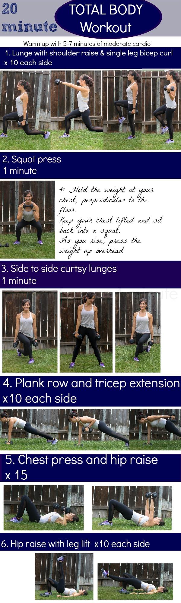 Twenty minute workout