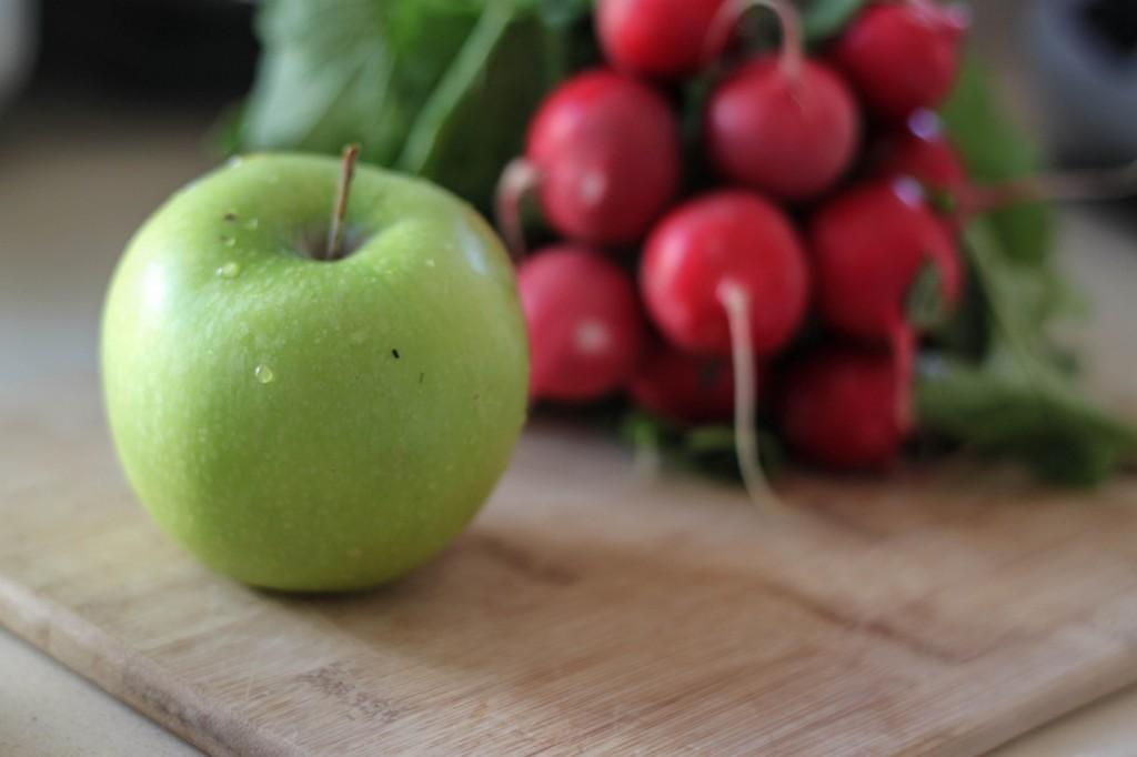 apple and radish