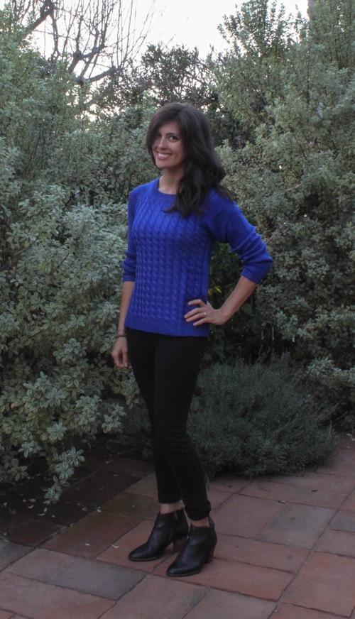 Cobalt sweater  1 of 1