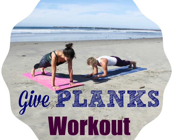 Give planks workout  1 of 1