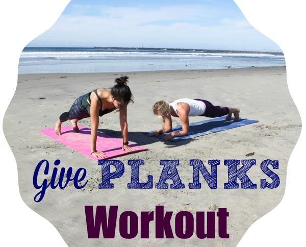 Planks on the beach
