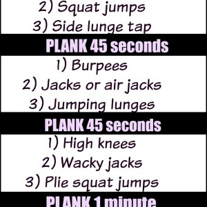 Give Planks Workout {video}