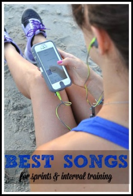 Interval training songs