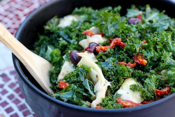 Italian Kale Salad