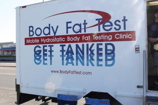 Body fat test  1 of 1
