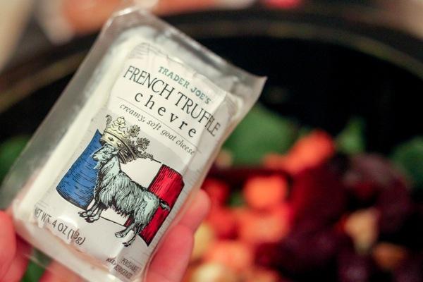 Trader Joe's French Truffle chèvre