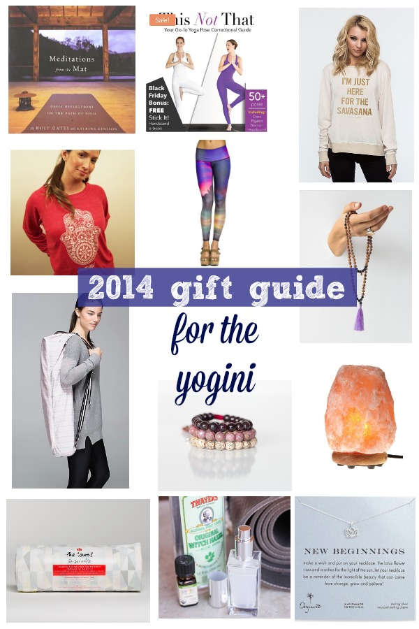 Gift guide for yogini