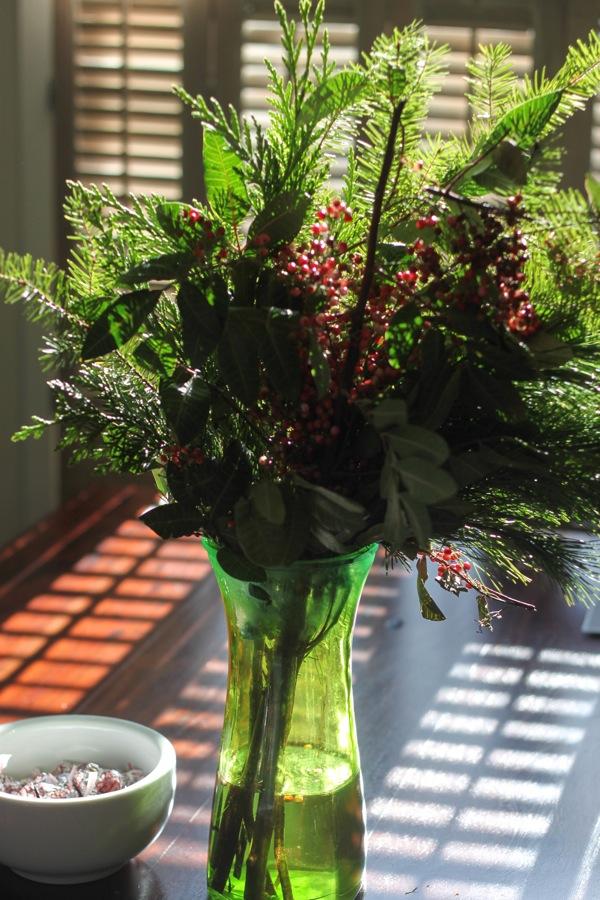 Pine arrangement
