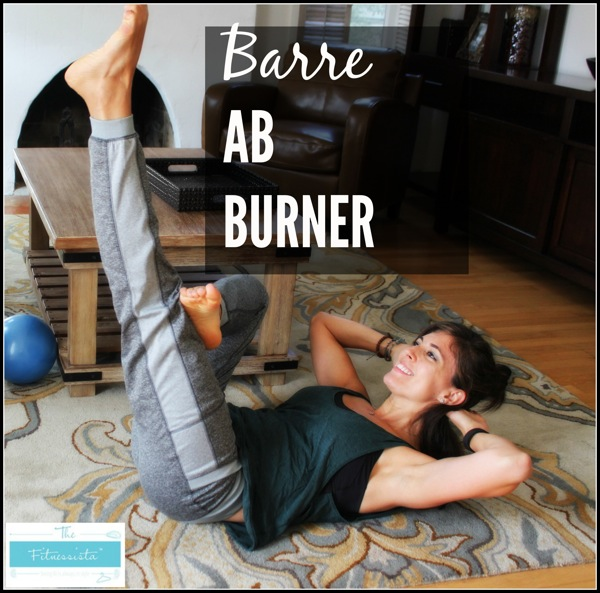 A barre ab workout featuring some of my favorite moves! This 10-minute video will work every abdominal muscle and also helps to strengthen the low back, which is a critical component of our core. fitnessista.com