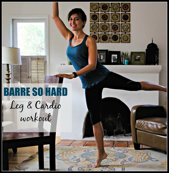 Barre so hard workout