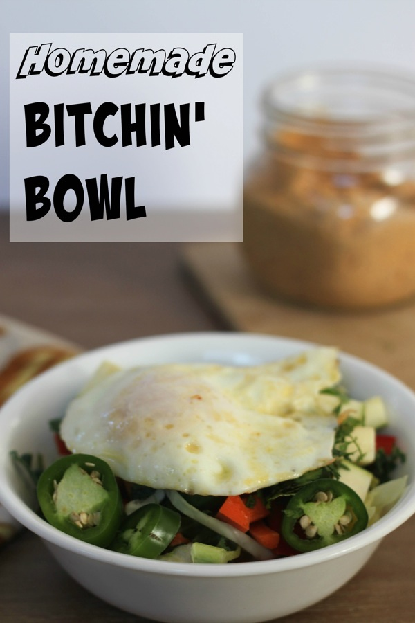 Homemade bitchin bowl