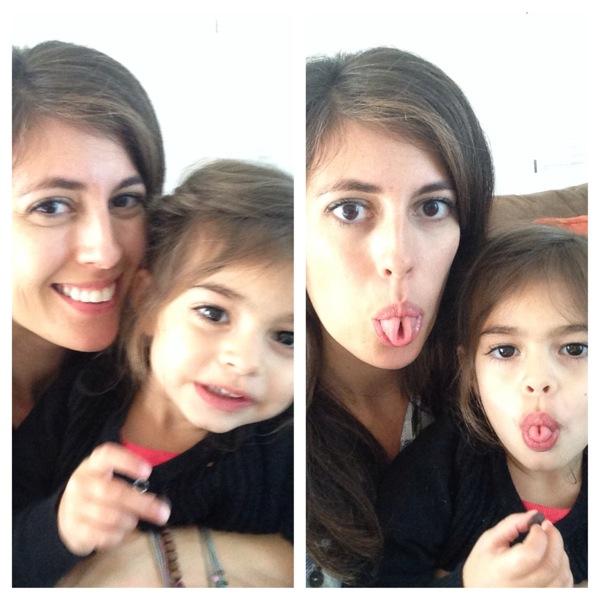 Liv and Me Selfies