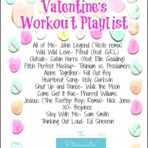 Valentine's Workout and Playlist (the non-cheesy version)