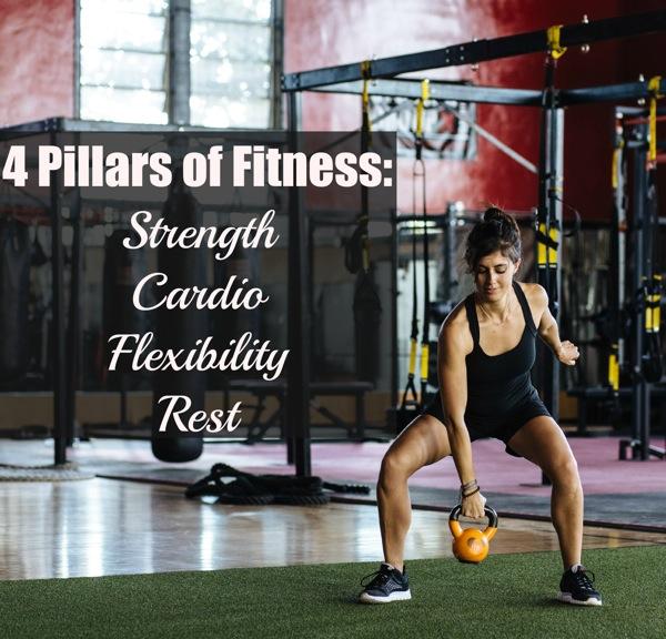 4 pillars of fitness