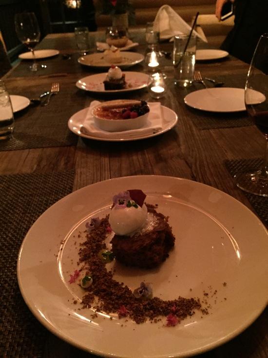 Dessert row