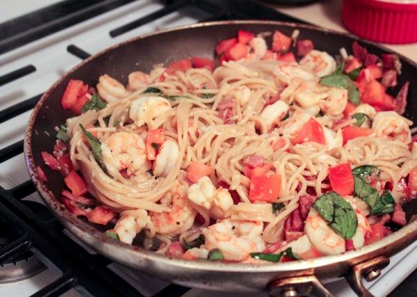 Shrimp pasta  1 of 1