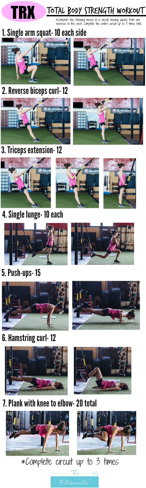 Trx total body circuit