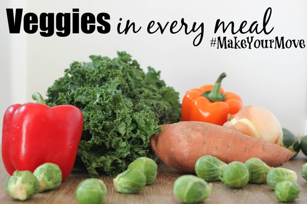Veggies in every meal 1 of 1