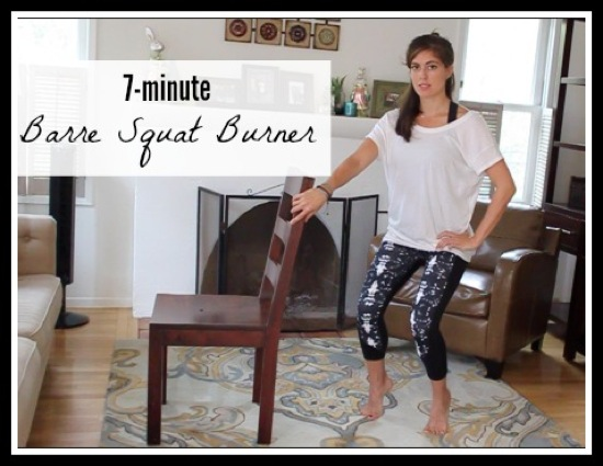 Barre squat burner