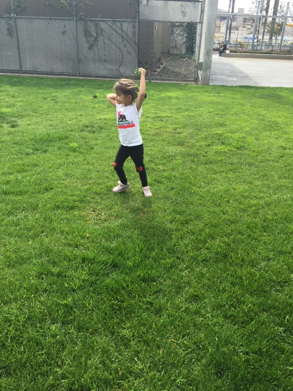 Dancing in the grass
