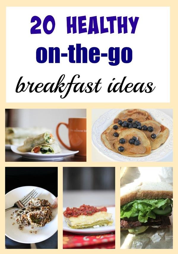 Healthy portable breakfasts