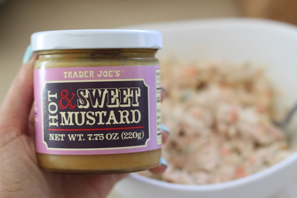 Trader Joe's How and sweet mustard