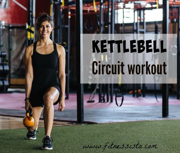 kettlebell circuit workout