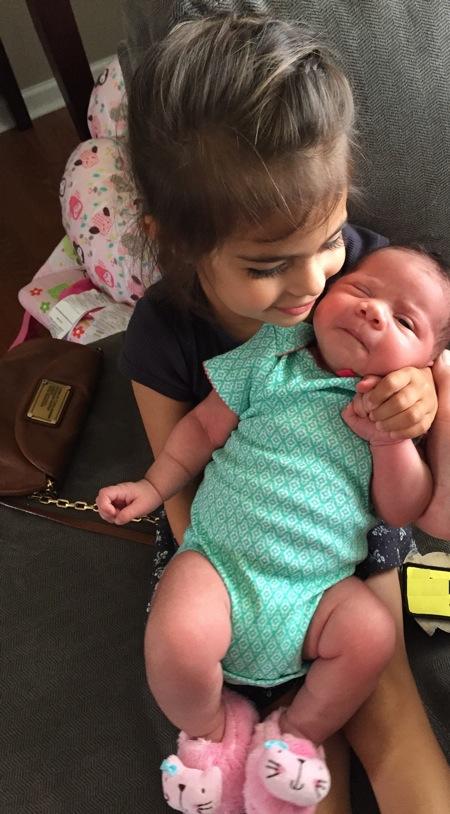 Liv and baby nylah