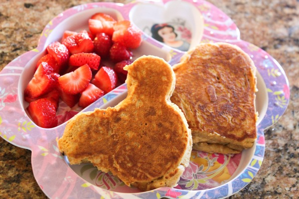 Mickey pancakes  1 of 1