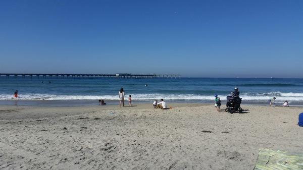 Ocean beachin
